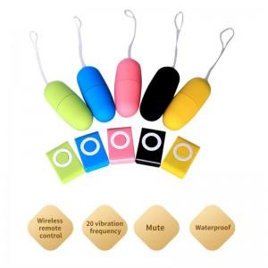 Manufacturer of Female Rabbit Vibrator - Amazon Hot Sale MP3 Mini Sex Toy 20 Speed Remote Control Vibrator  G spot Women Egg Vibrator – Tonglu