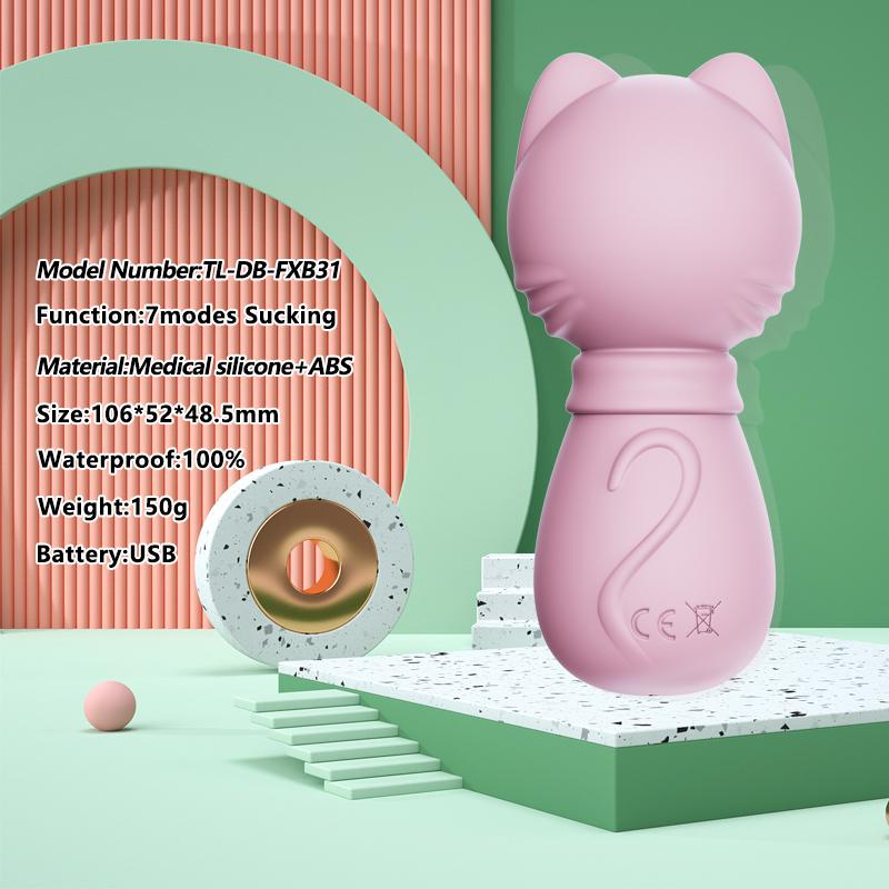 Women Clit G Spot Mini Vibrators Vagina Clitoral Exotic With Hello Kitty Cat Shape Of Sucking Vibrator