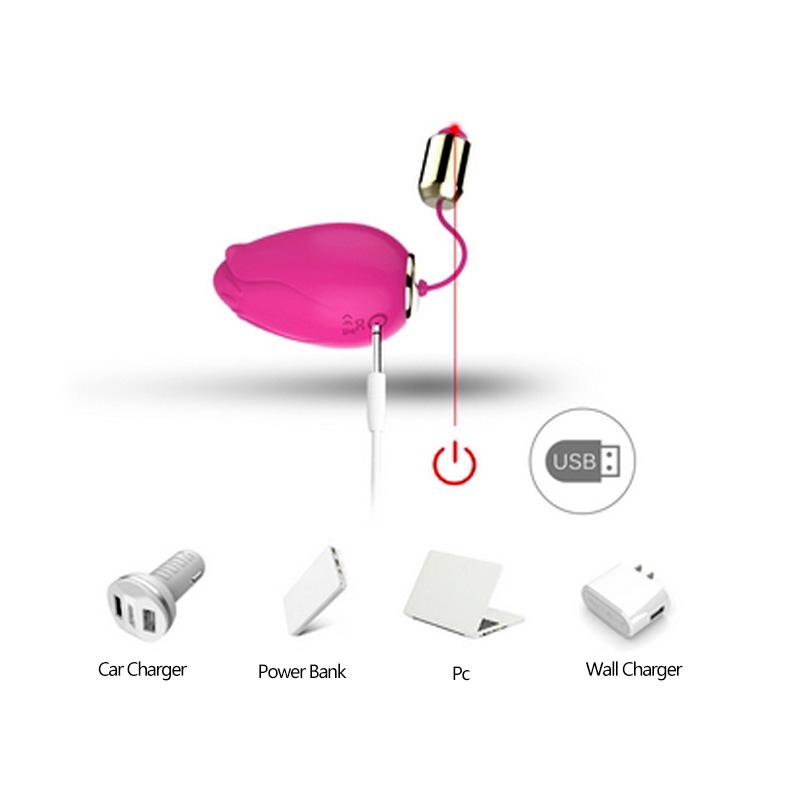 Women Vagina Bullet Vibrator g-spot stimulation Wireless Remote Control Flower Jump Eggs Strong Vibrating Bullet