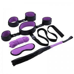 Adult Bondage Kit Set Leather Bondage Sex Toy for Couple SM